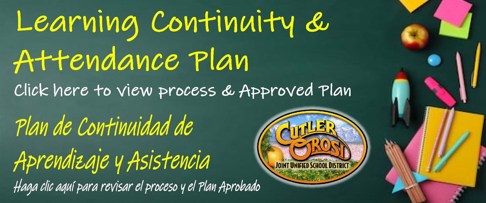 Learning Continuity and Attendance Plane Page Cover Image